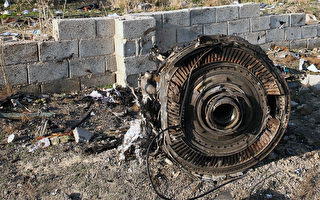 2020年1月8日凌晨,一架搭载176名乘客的乌克兰客机在伊朗首都德黑兰的伊玛目霍梅尼机场附近坠毁,机上所有人遇难。图为坠毁现场。(AFP via Getty Images)