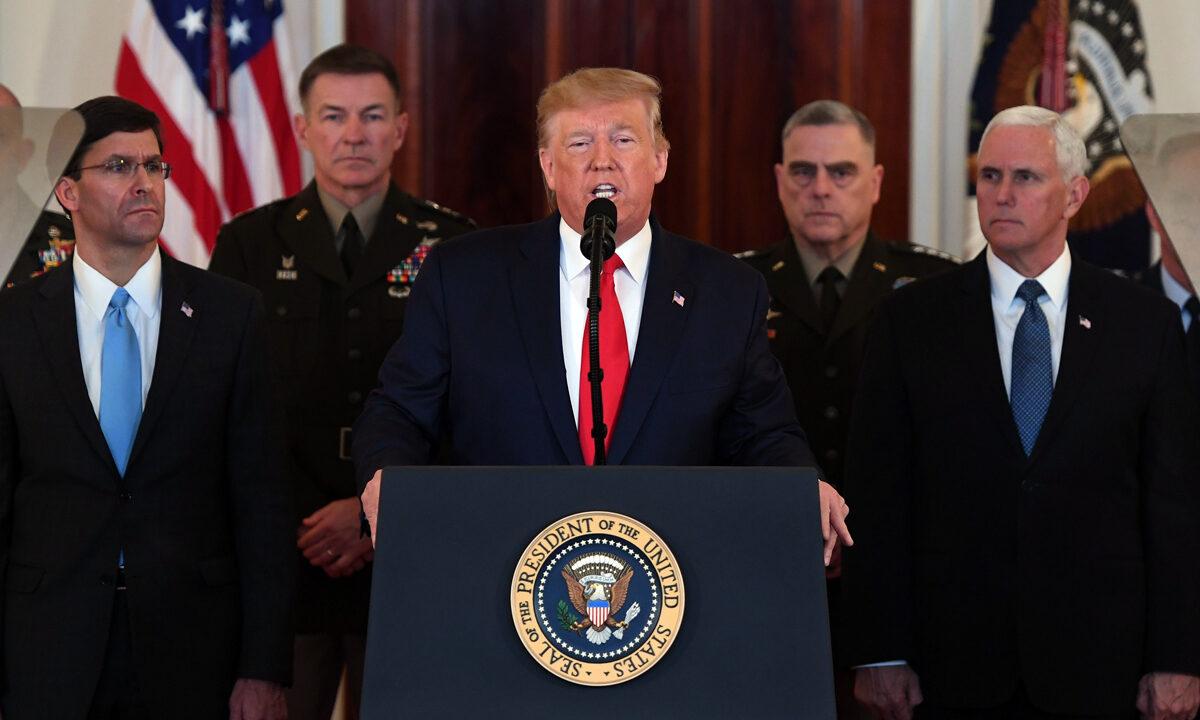 伊朗領導人挑釁 特朗普籲其放棄恐怖主義