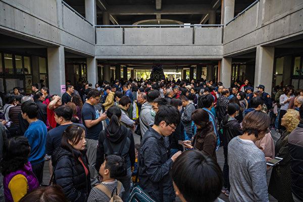 1月11日,中華民國舉行總統副總統及第10屆立法委員選舉。圖為新北市投票現場。(Billy H.C. Kwok/Getty Images)