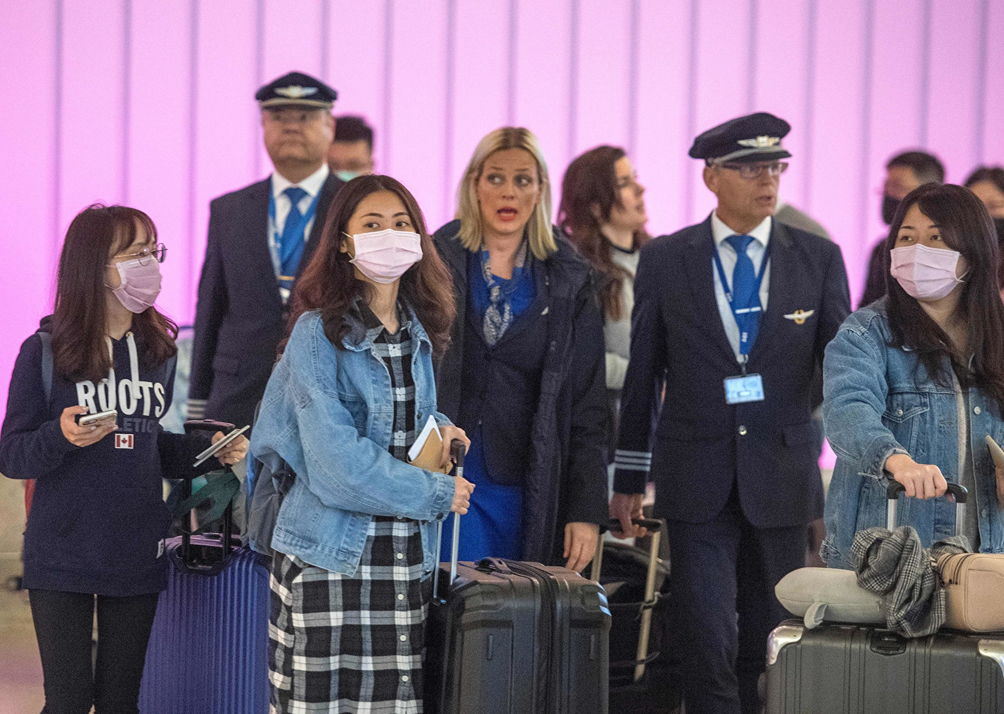 全球航空公司暫停全部或部份中國航班一覽
