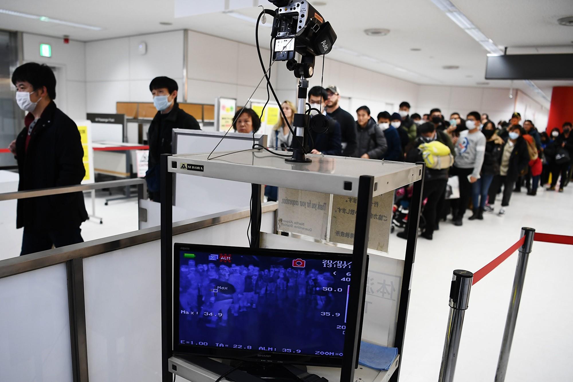 由於中共病毒在中國大陸蔓延,美國國務院2020年1月27日將中國旅行警告提高到第3級,呼籲民眾「三思而後行」。 (CHARLY TRIBALLEAU/AFP via Getty Images)