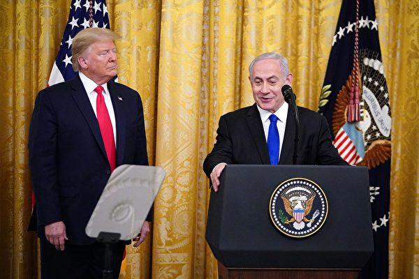 川普宣布中东和平计划 获以色列两党支持