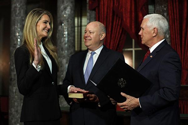 莱夫勒参议院宣誓就职 明示反对弹劾川普