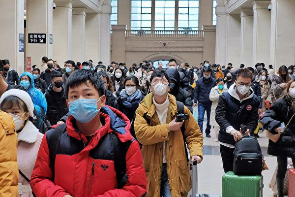 美CDC:中共肺炎恐大流行 潛伏期2到14天