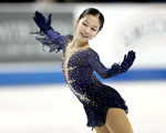 创纪录4周跳 14岁华裔女孩蝉联全美花滑冠军
