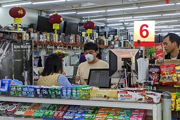 預防病毒傳染 南加華人出門戴口罩