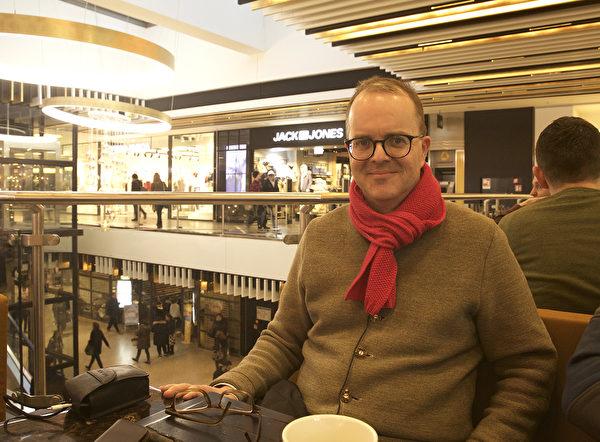 德國最大州巴伐利亞州議會副主席馬庫斯‧林德斯巴赫(Markus Rinderspacher,社民黨SPD)於2020年1月17日接受大紀元採訪。(黃芩/大紀元)