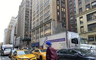 去年纽约警察开罚单给骑车人多于给卡车司机