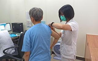 流感疫苗接種  桃園療養院員工及精神病人接種