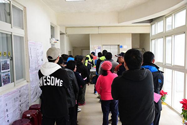 1月11日,中華民國舉行總統副總統及第10屆立法委員選舉。圖為馬祖一處投票所。(連江縣選舉委員會提供/中央社)