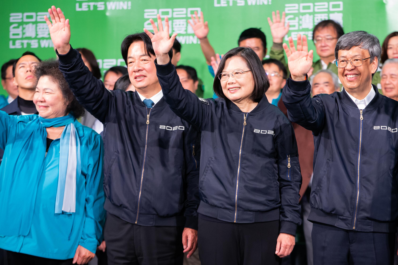 港媒聚焦蔡英文高票連任的「香港因素」