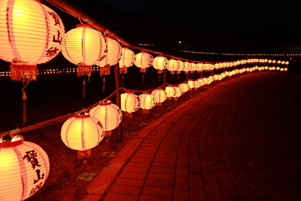 元宵節花燈。(台灣新竹寶山鄉公所提供)