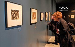 「證人:大屠殺時代的藝術見證」 展出19幅作品