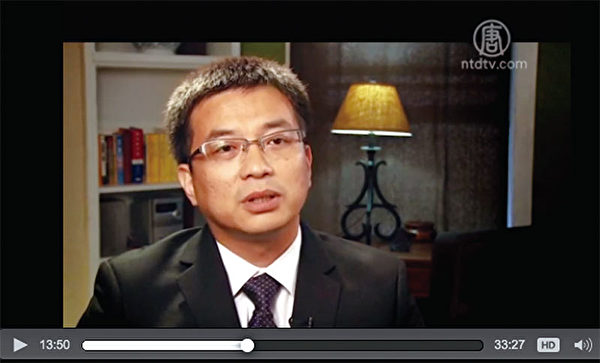 1996年,王為宇被保送讀清華大學精儀系的博士研究生。(影片截圖)