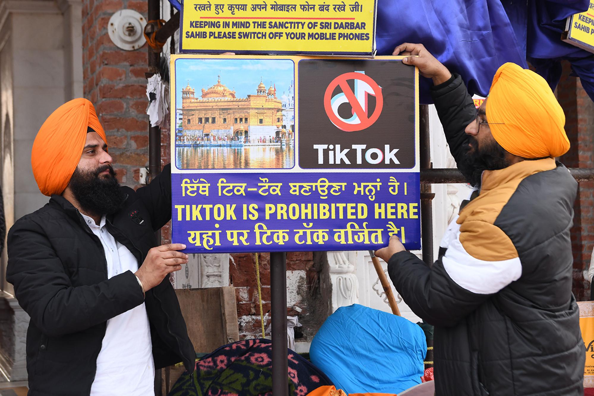 TikTok四面楚歌 印度和美國產App下載量大增