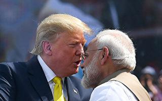 川普连发推文 表明访问印度的高度意愿