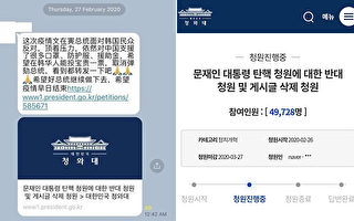 彈劾還是支持總統?韓國發起兩種請願引關注