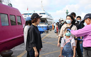 离岛防疫 台东富冈港量温37.5度禁登船