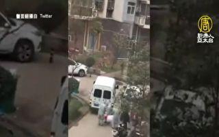 中国街上运尸影片频曝光 传殡仪馆高薪聘运尸工