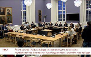丹麦议会文化委员会吁政府回应神韵被取消