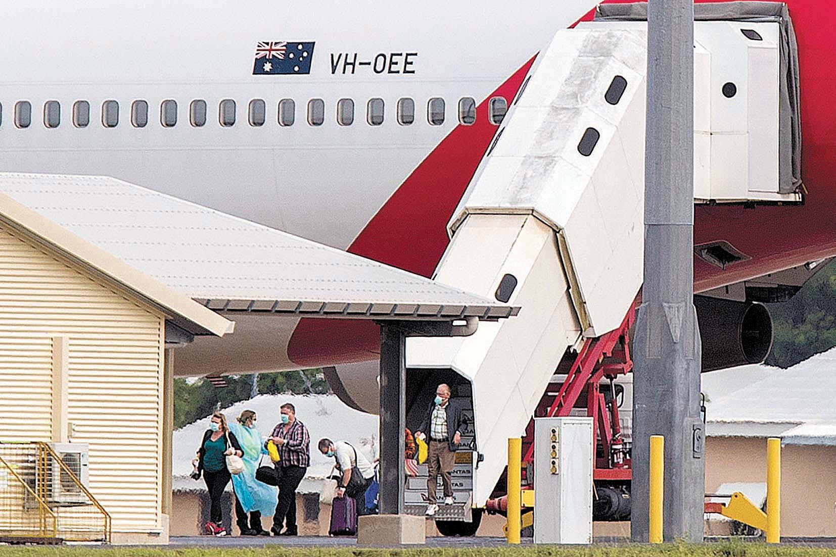 鑽石公主號澳洲人返國後確診增至7人