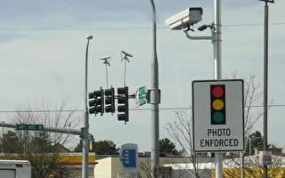 大温8路口启动测速摄影仪
