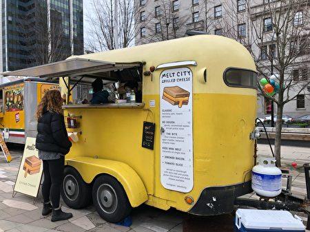 温哥华街头美食餐车