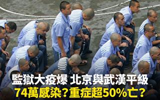 武漢監獄單日增233確診病例 或是冰山一角