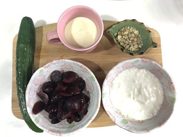 發酵美食之二:蔬果早餐飲。(商周出版提供)