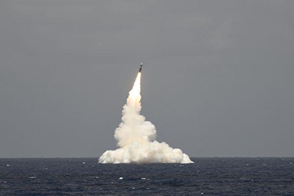 洲际导弹携新型核弹头 美潜艇获配备新武器