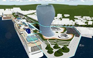 打造新地标  基隆港旅运复合商业大楼招商