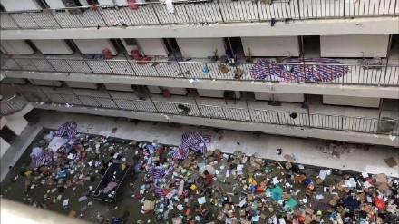 武汉职校宿舍被征用 学生物品遭丢弃引民愤