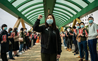 组图:香港医护罢工升级 要求全面封关抗疫