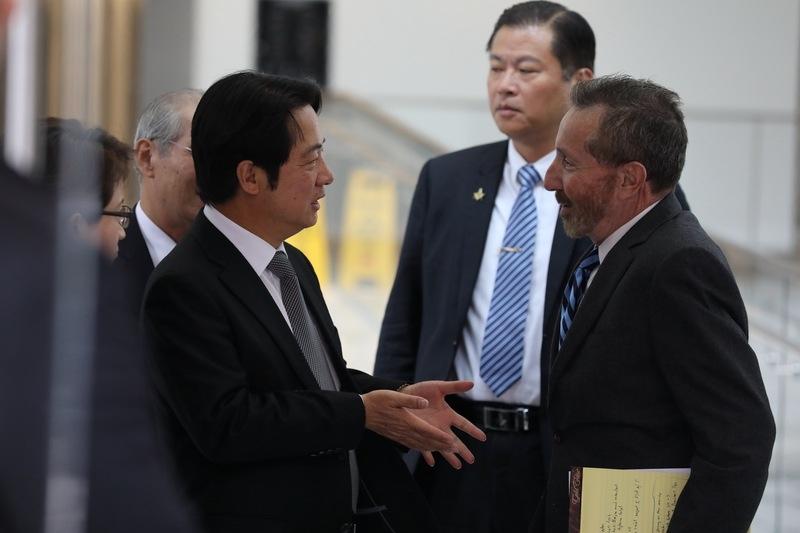 訪問華盛頓具突破性 賴清德盼對台灣有助益