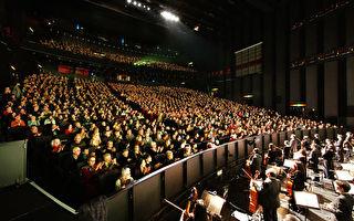 神韻法國圖爾首演 三次謝幕 主流觀眾讚佩