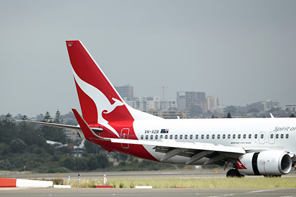 澳航飞机。(GettyImage)