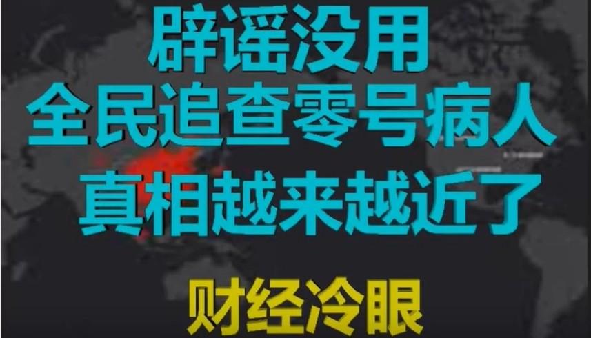 署名「財經冷眼」的財經評論人士2020年2月16日發佈影片指出,石正麗以及黃燕玲的導師出來澄清闢謠,說明黃燕玲已不在人世,病毒所在遮掩真相。(影片截圖)