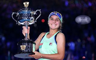 澳網捧盃 21歲美國姑娘肯寧首奪大滿貫