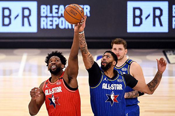 NBA全明星賽 勒布朗隊險勝「字母哥」隊
