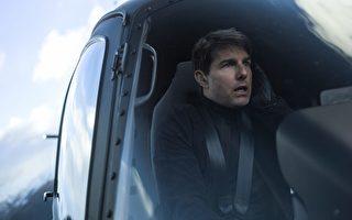 湯姆·克魯斯在《不可能的任務:全面瓦解》伊森韓特,直升機。