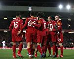 英格兰足球超级联赛第27轮,利物浦主场3:2逆转西汉姆