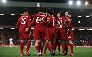 利物浦18連勝平英超紀錄 切爾西力克熱刺