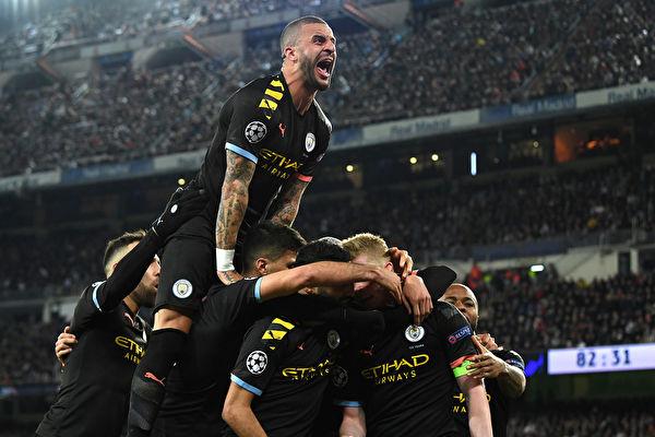 欧冠16强赛:曼城逆转皇马 尤文不敌里昂