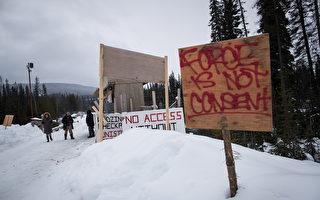 卑詩省建天然氣管道 6成加人反對抗議者堵路