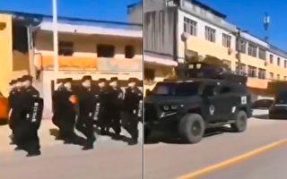 視頻:軍人喊口號巡邏 湖北籍專用廁所出現