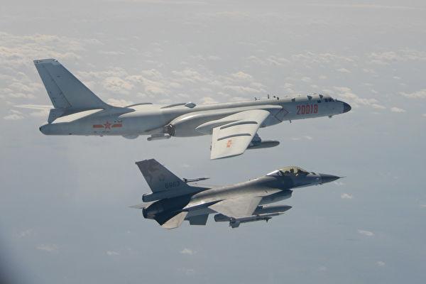 轉移視線?中共軍機接連兩次繞台引熱議