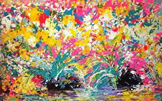 创造与丰盛 曾日昇心灵画展一览神奇疗愈画作