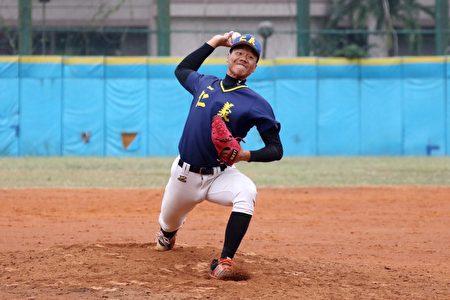 王牌投手郭峻玮。