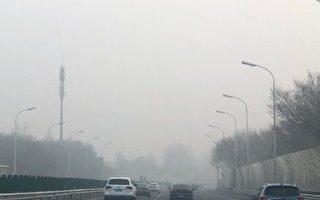 组图:工厂等停摆 北京阴霾却创新高