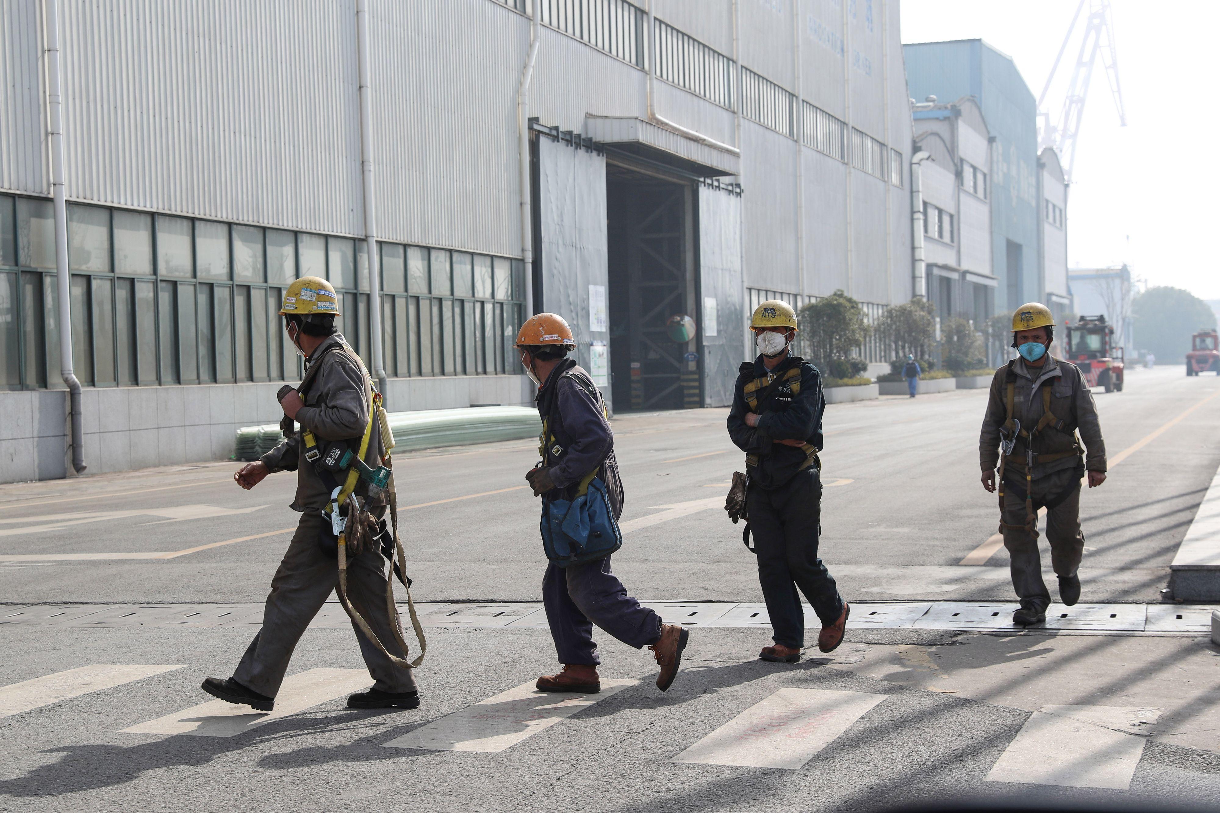 謝田:中國工廠復工必須有個前提